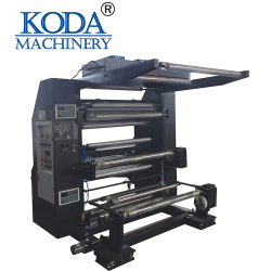 Computer Electronic Roto Gravure Color Printing Machine