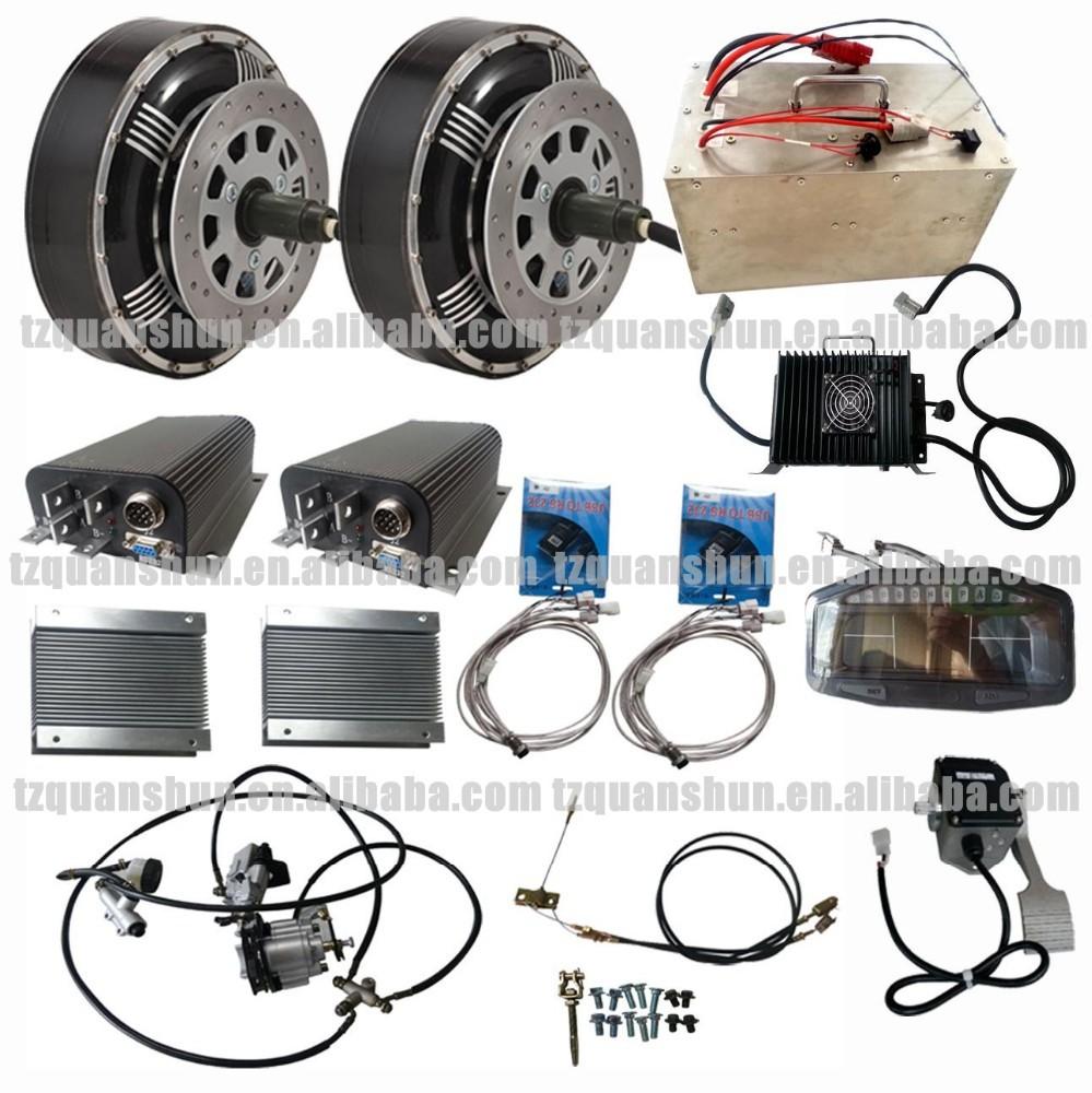 qs double 8kw 8 8 kw hub moteur lectrique hybride kit de conversion de voiture kits autres. Black Bedroom Furniture Sets. Home Design Ideas