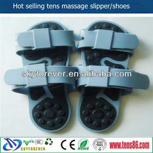 therapists silicone rubber shoes/tens massage slipper