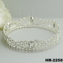 Hair accessories accessory fashion jewelry glitter wedding accessories bridal headpiece real diamond crowns and tiaras