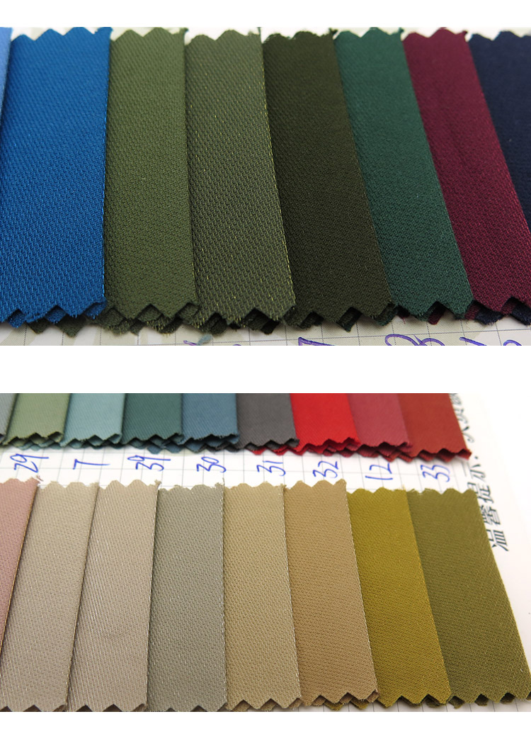 wholesale woven twill style Flashing silk 85% cotton 15% polyester mix fabric use for Tops, outdoor wear, down jacket, etc
