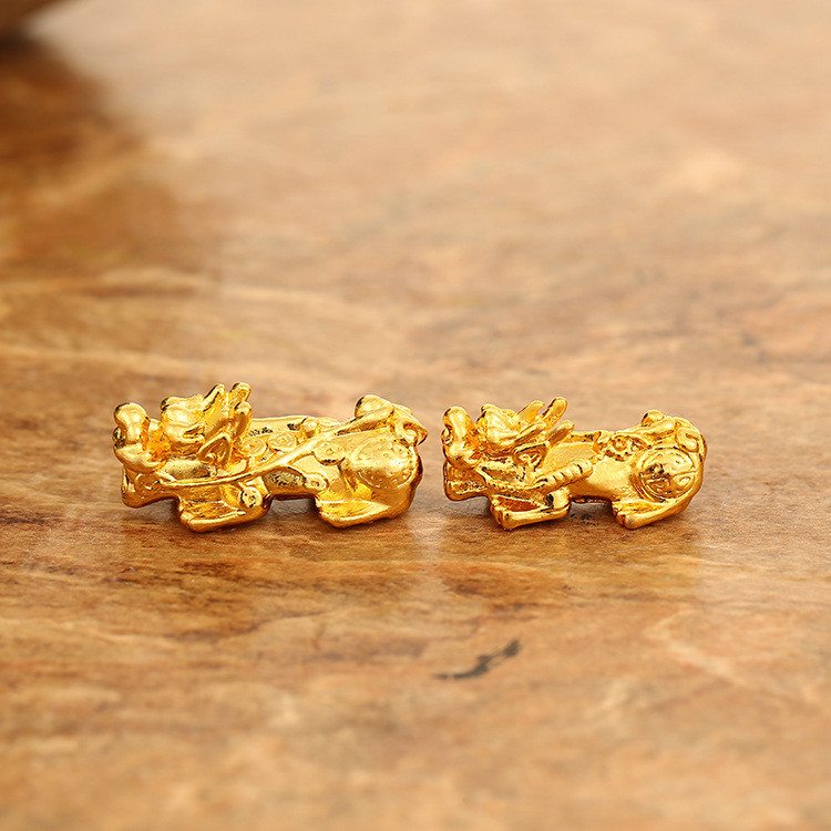 Wholesale Price Feng Shui Gold Plating Traverse Pi Xiu DIY <strong>Accessories</strong>