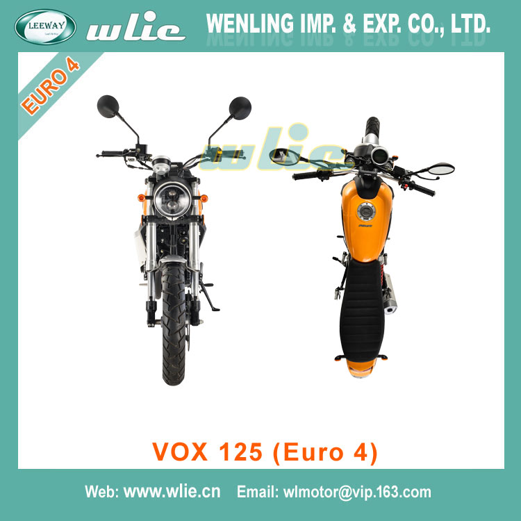 Factory price unique motorcycle design 125cc VOX (Euro 4)