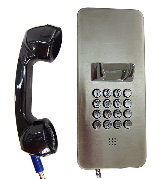 Correctional Center Inmate Phone ,Prisoner vandalproof telephone,SIP emergency telephone system for prison