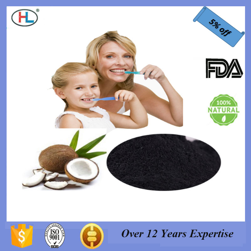 OEM Available and Private Label Coconut Shell Activated Charcoal Powder Tooth Whitening