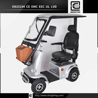 red electric disabled BRI-S03 300cc trike scooterac-01