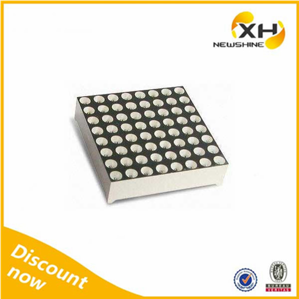 Free Sample Indoor Outdoor using High Brightness led dot matrix 8x8 blue