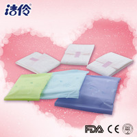 Color PE package anion sanitary pad