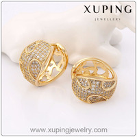 90389 Xuping Imitation Jewelry Fashion Hot Sale Earring With 18K Gold Plated
