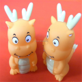 Custom kawaii vinyl squishy animal toy for kids manufacturer