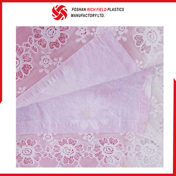 Accept Custom Order Fancy PVC Lace Wholesale Tablecloth