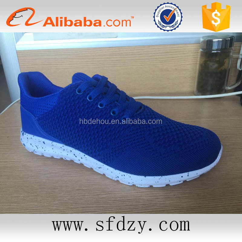 Hot on sale sports shoes for men 2016 cheap sneakers china factory