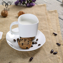 best selling products reusable coffee cup cookie pocket mug with cookie holder