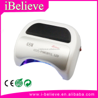Professional 48w uv led nail lamp 12w ccfl+36w led nail dryer