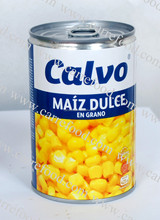 Non GMO Canned Yellow maize corn