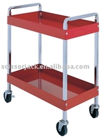 2 Shelves Service Cart