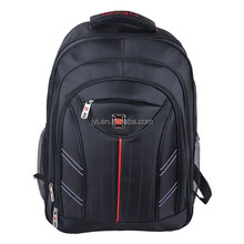 2015 new fashion nylon good quality black laptop bag cheap backpack 1923