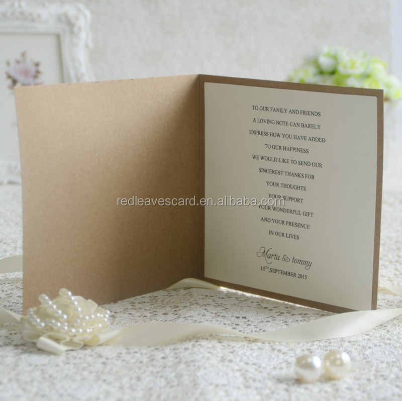 First-Class handmade wedding invitation card designs for friends with fast delivery