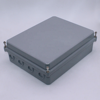 Hinged Type Sealed Aluminum Project Enclosure Waterproof Junction Box