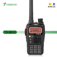 New Brand TSSD walkie talkie with strong waterproof materials TS-M618 high frequency walkie talkie with scrambler