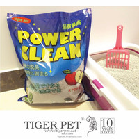 Hot selling clumped cat litter private label pet products