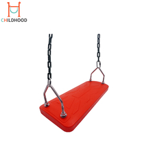 High Quality 304 steel Chain Outdoor Playground Swing Seat For Adults Belt Swing Set