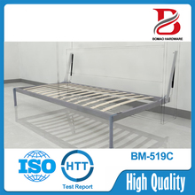 2000*1500mm horizontal metal folding motorized wall bed