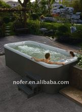 5 persons imported USA Acrylic outdoor hot tub balboa Swim spa pool with CE