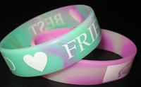 latex free silicone rubber bracelet