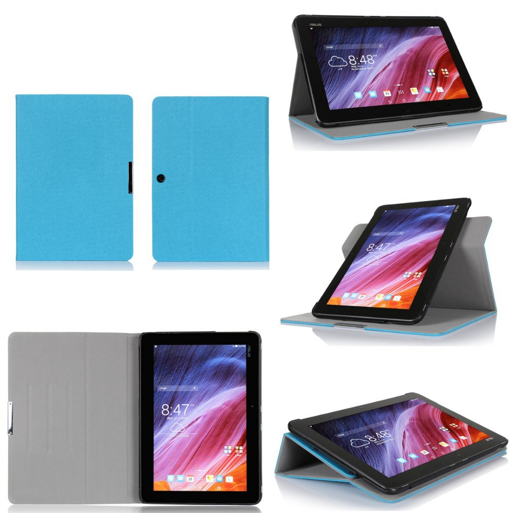 China Factory Ultra Thin Designs Excellent Tablet Flip Case For Asus TF103C