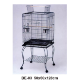 High quality plastic wire cage foldable pet cage bird round bird cage