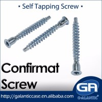 Flat Countersunk Socket Cap Head Furniture Confirmat Screw
