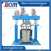 Plastic sealant tri-shaft mixer
