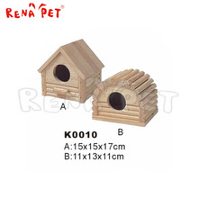 Wholesale beautiful wooden hamster cage for sale