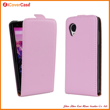 Mobile Phone Colorful Vertical Genuine Leather flip Case For LG Google Nexus 5 E980 D820 D821
