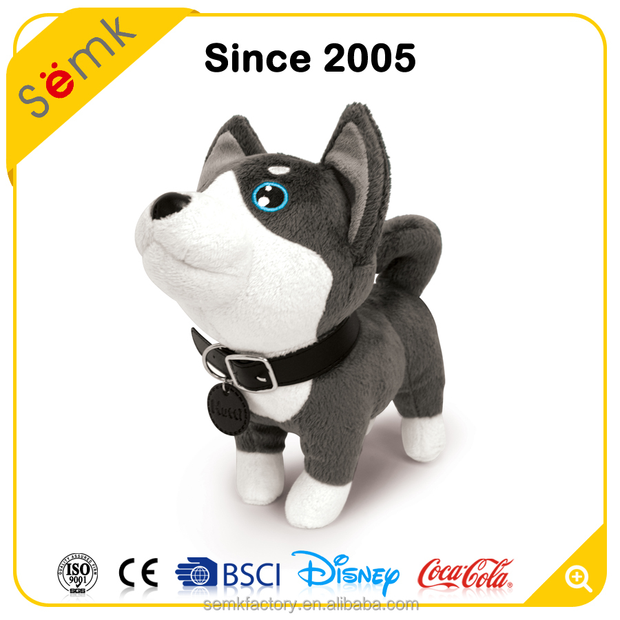 Semk factory design your own plush toy dog animal plush stuffed toy