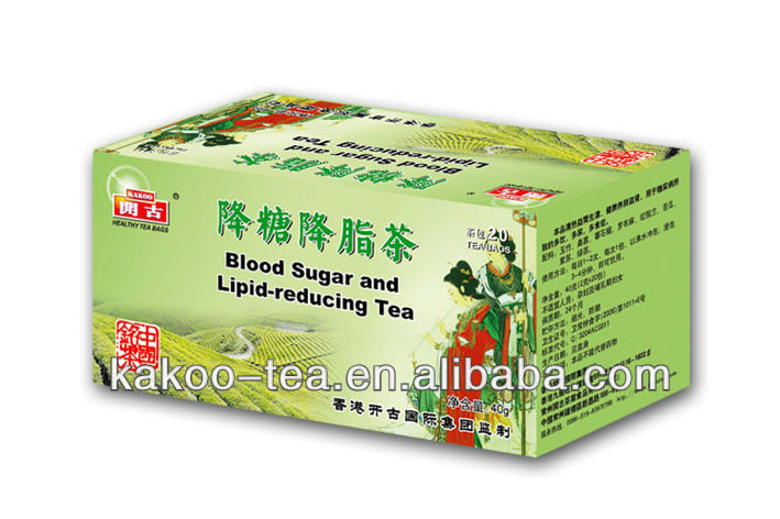 Kakoo Blood Sugar and Lipid Reducing Herbal Tea