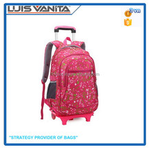 Waterpoof Student Bag Kids Trolley School Bag Cheap Bags for Children