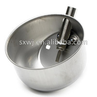 Stainless steel water bowls pig farm equipment Drinker small piglet feed trough