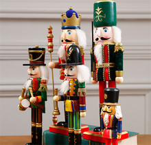 Factory direct wholesales outdoor christmas wooden nutcrackers