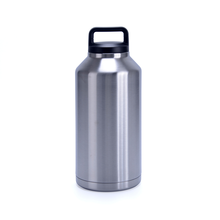 stainless steel 18 / 8 double wall 64oz large capacity rambler bottle travel tumbler