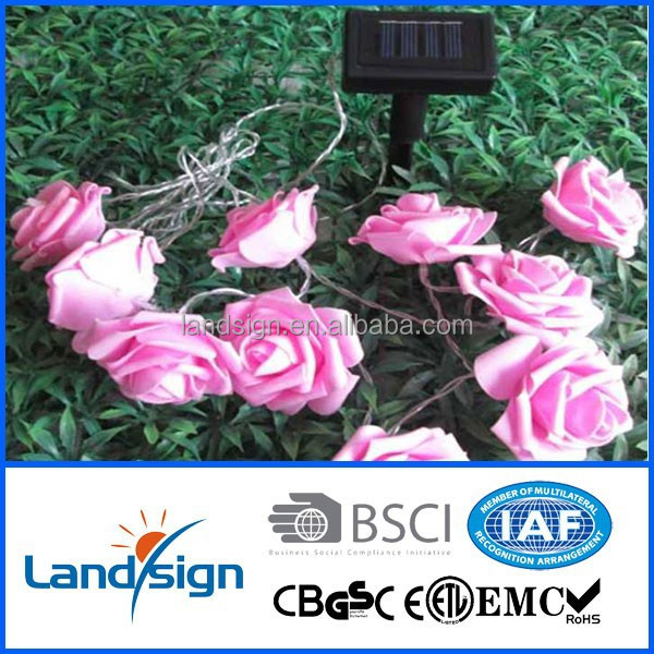 XLTD-127 China supplier made led lights for holiday/garden/home decoration use 3m 10 leds EVA solar christmas lights