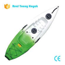 Small One Seat Plastic Single Ocean Canoe Paddle Boat For Sale