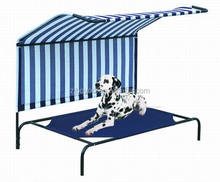 Foldable waterproof large Elevated metal Frame Raised Cooling Pet Dog Cot Bed