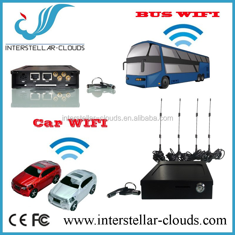 Mobile industrial Vehicle driving 4G/LTE WIFI Router