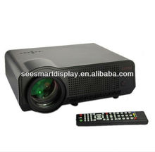 720p 1080p 2800lumens led daylight projector,led 3d home theater projector with 2HDMI+USB+TV