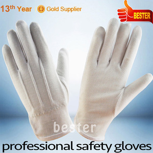 Unique style High-ranking etiquette cotton gloves