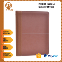 BWA-14 Be free closure file folder/manager portfolio for business with calculator
