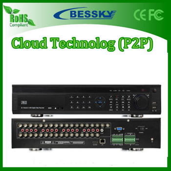 Bessky brand name 32channel dvr BE-9932HD Standard H.264 video compression 32CH DVR made in China shenzhen factory