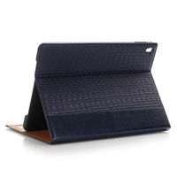 CA645 Crocodile Pattern Texture PU Leather Wallet Stand Case for iPad Pro 9.7 inch Tablet Case Factory Price